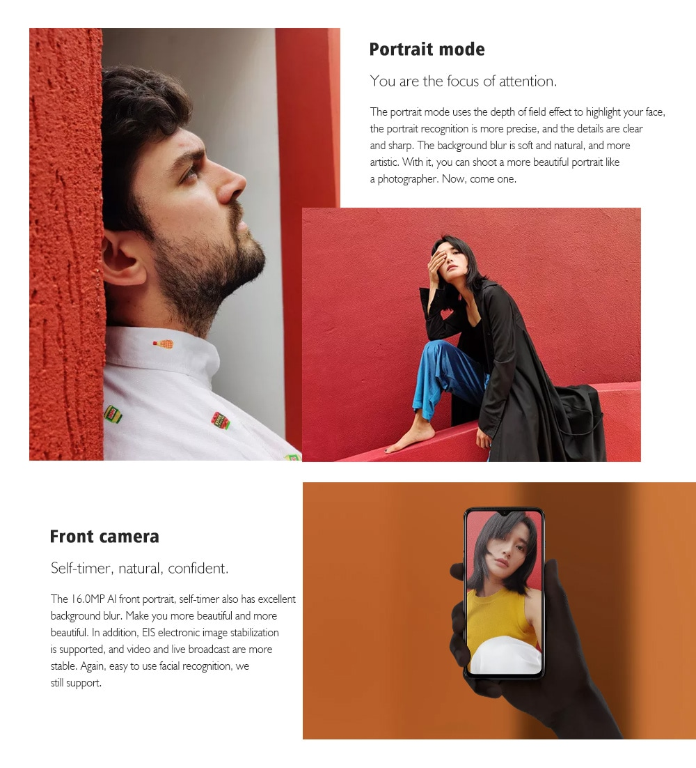 OnePlus 7 4G Phablet 6.41 inch Android 9.0 Snapdragon 855 Octa Core 2.84GHz 8GB RAM 256GB ROM 48.0MP + 5.0MP Rear Camera 3700mAh Battery- Gray