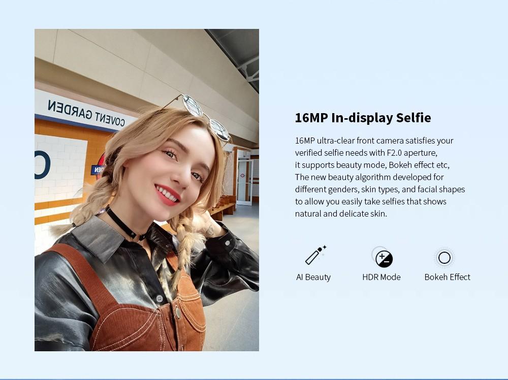 OPPO realme 6 4G Smartphone Global Version (Russian Edition) - Blue