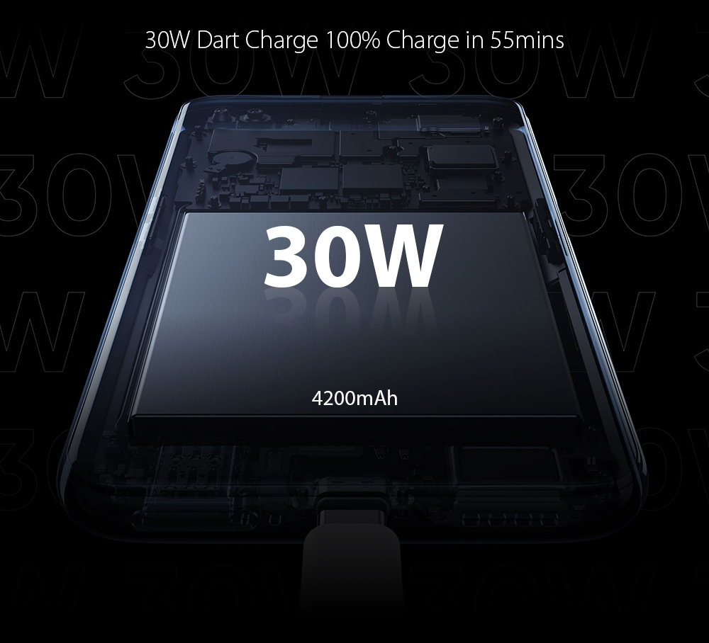OPPO realme X3 SuperZoom 4G Smartphone 30W Dart Charge 100% Charge in 55mins
