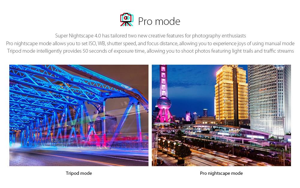 OPPO realme X3 SuperZoom 4G Smartphone Pro mode, Tripod mode, Pro nightscape mode