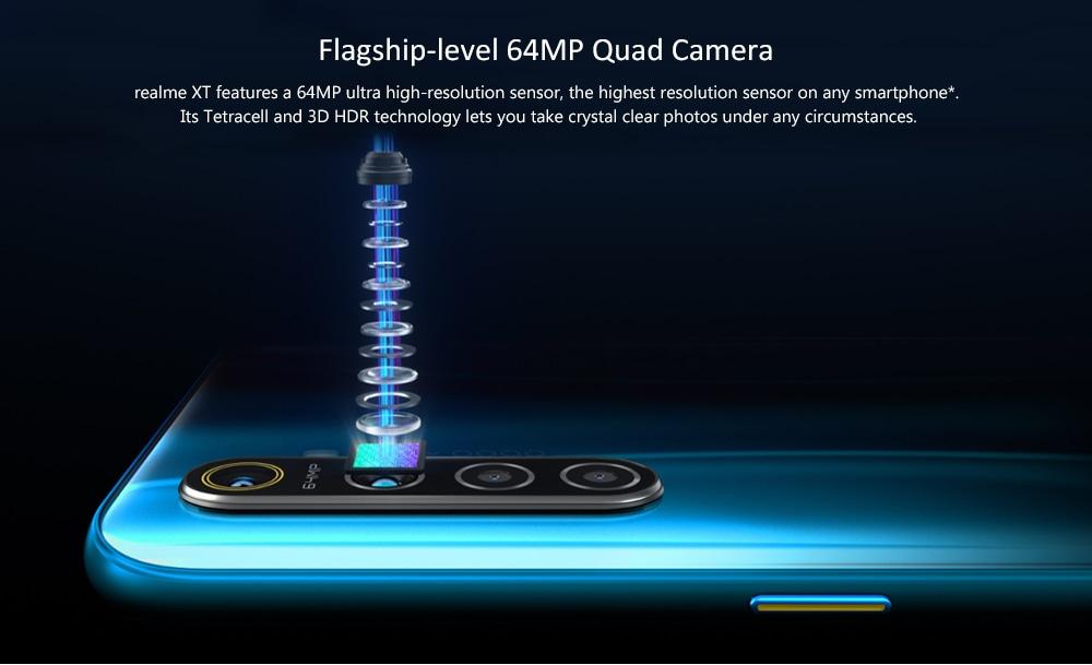 OPPO Realme XT 4G Smartphone 8GB RAM 128GB ROM- White