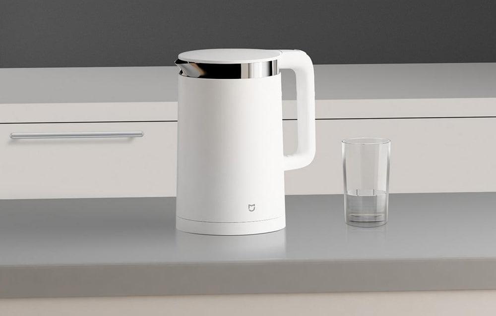 Eredeti Xiaomi Mi elektromos vízforraló Kikapcsolás elleni védelem 304 rozsdamentes acél belső réteg - 1,5 literes fehér