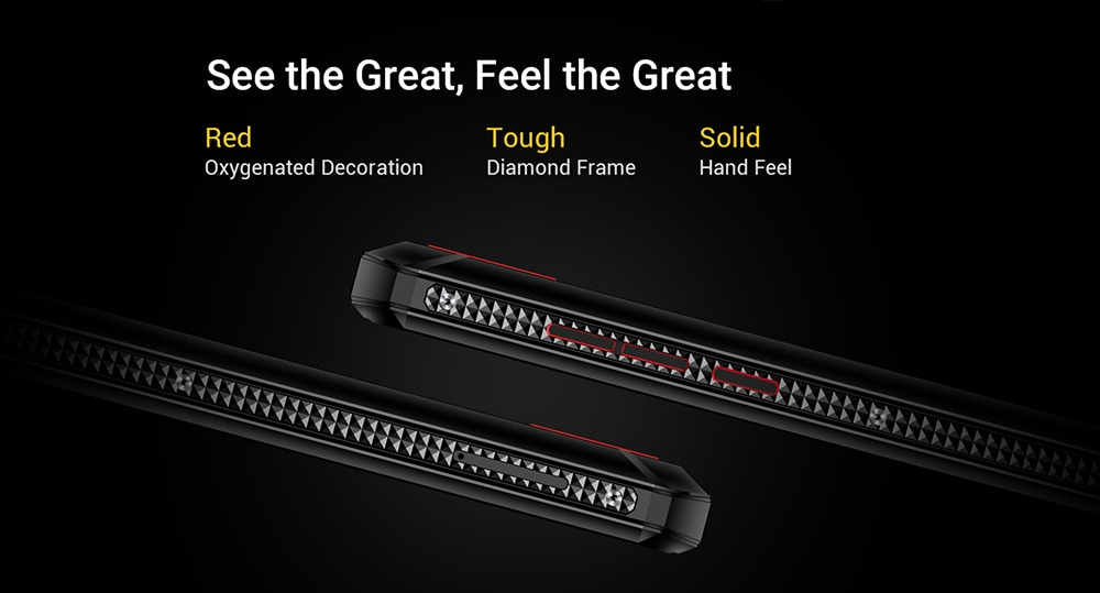 OUKITEL K13 Pro 4G Phablet 4GB RAM 64GB ROM- Graphite Black