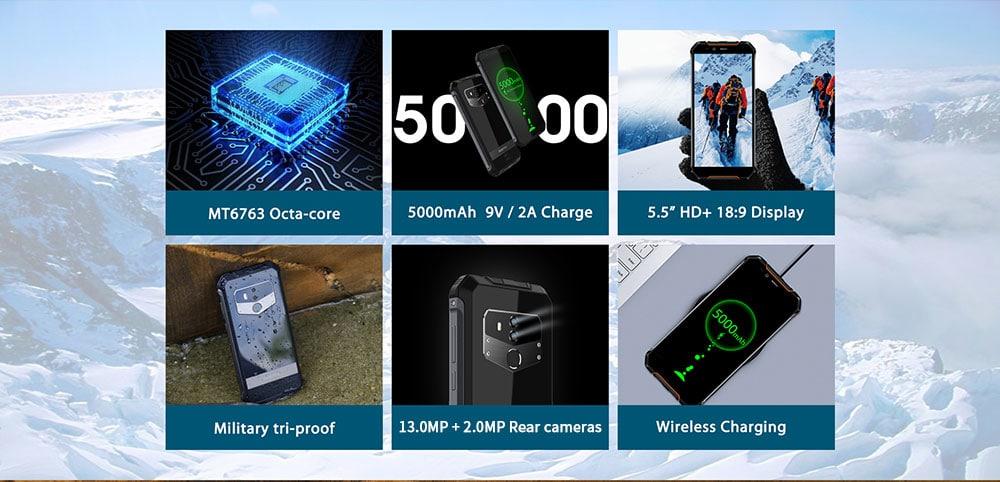 OUKITEL WP1 4G okostelefon