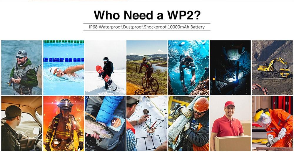 OUKITEL WP2 4G okostelefon