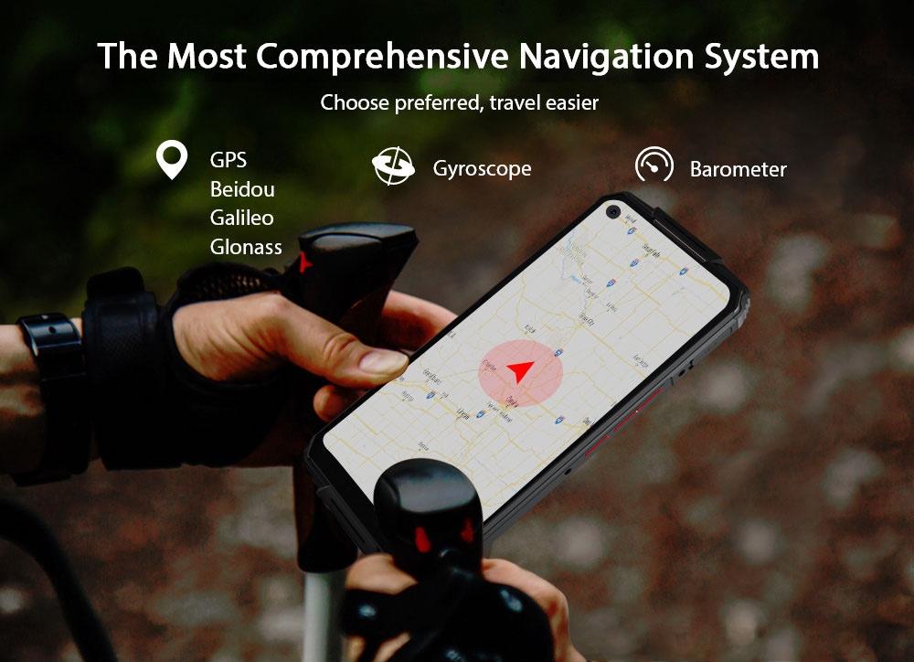 OUKITEL WP7 4G Smartphone Global Version - Orange 6+128GB