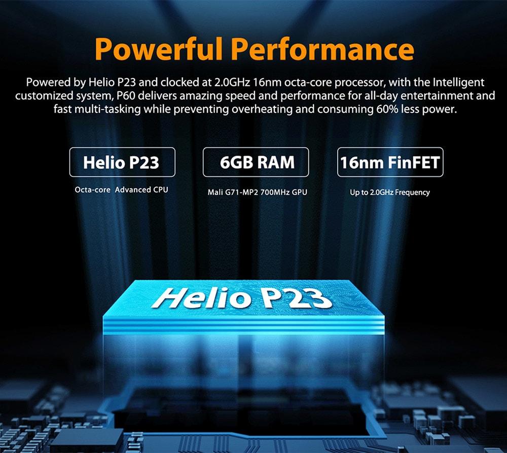 Poptel P60 4G okostelefon