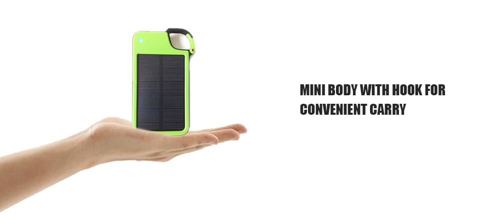 Portable USB Mini Solar Mobile Power Bank Key Ring Design- Plum