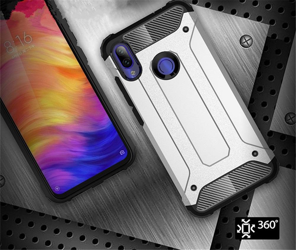 Védőfedél tok Xiaomi Redmi megjegyzéséhez 7- Blue Ivy