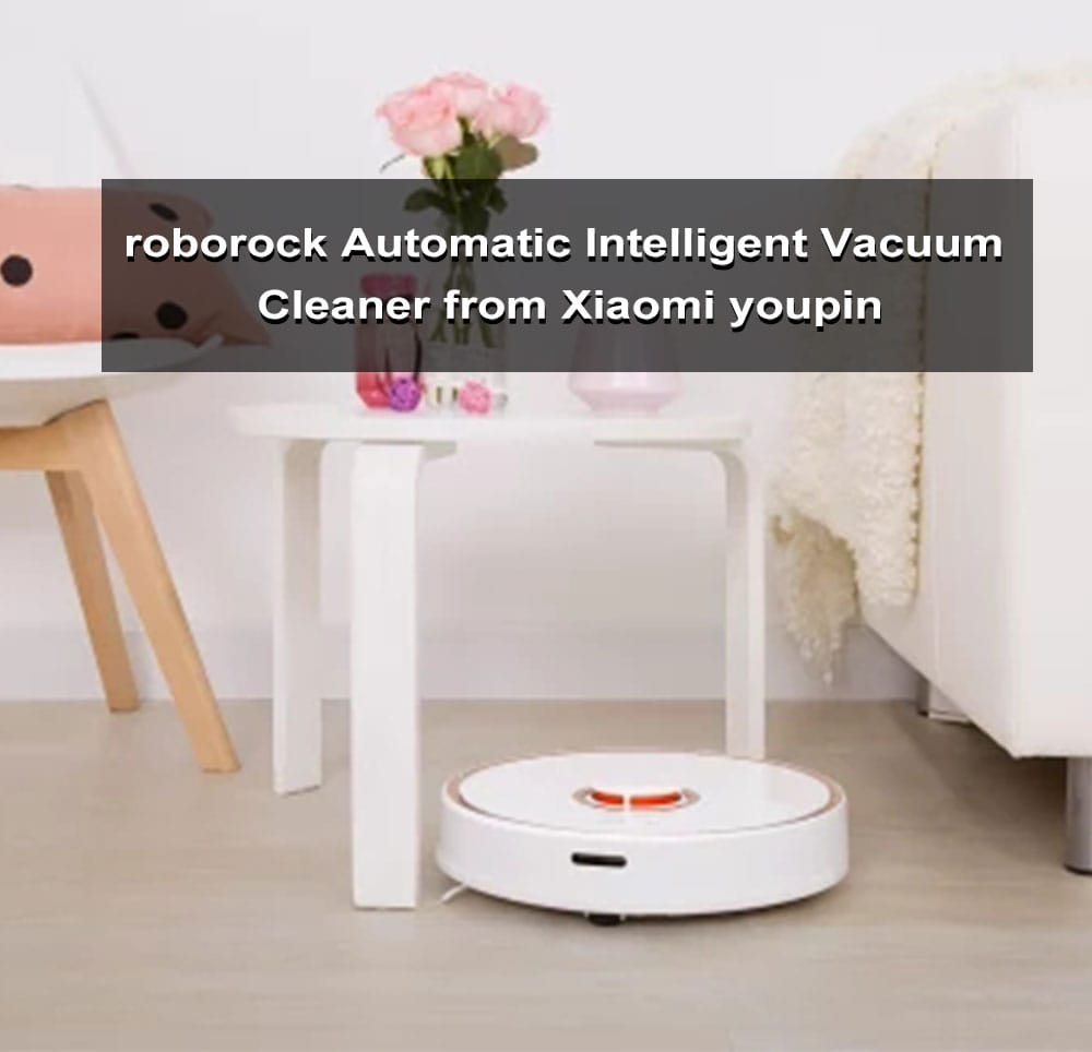 roborock Automatic Intelligent Vacuum Cleaner from Xiaomi youpin- Rose Gold Chinese Plug (2-pin)