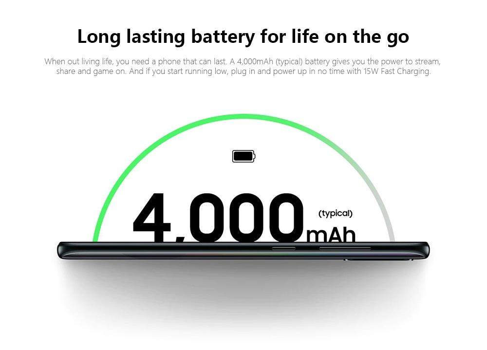 Samsung Galaxy A50s 4G Phablet 6GB RAM 128GB ROM- Macaw Blue Green