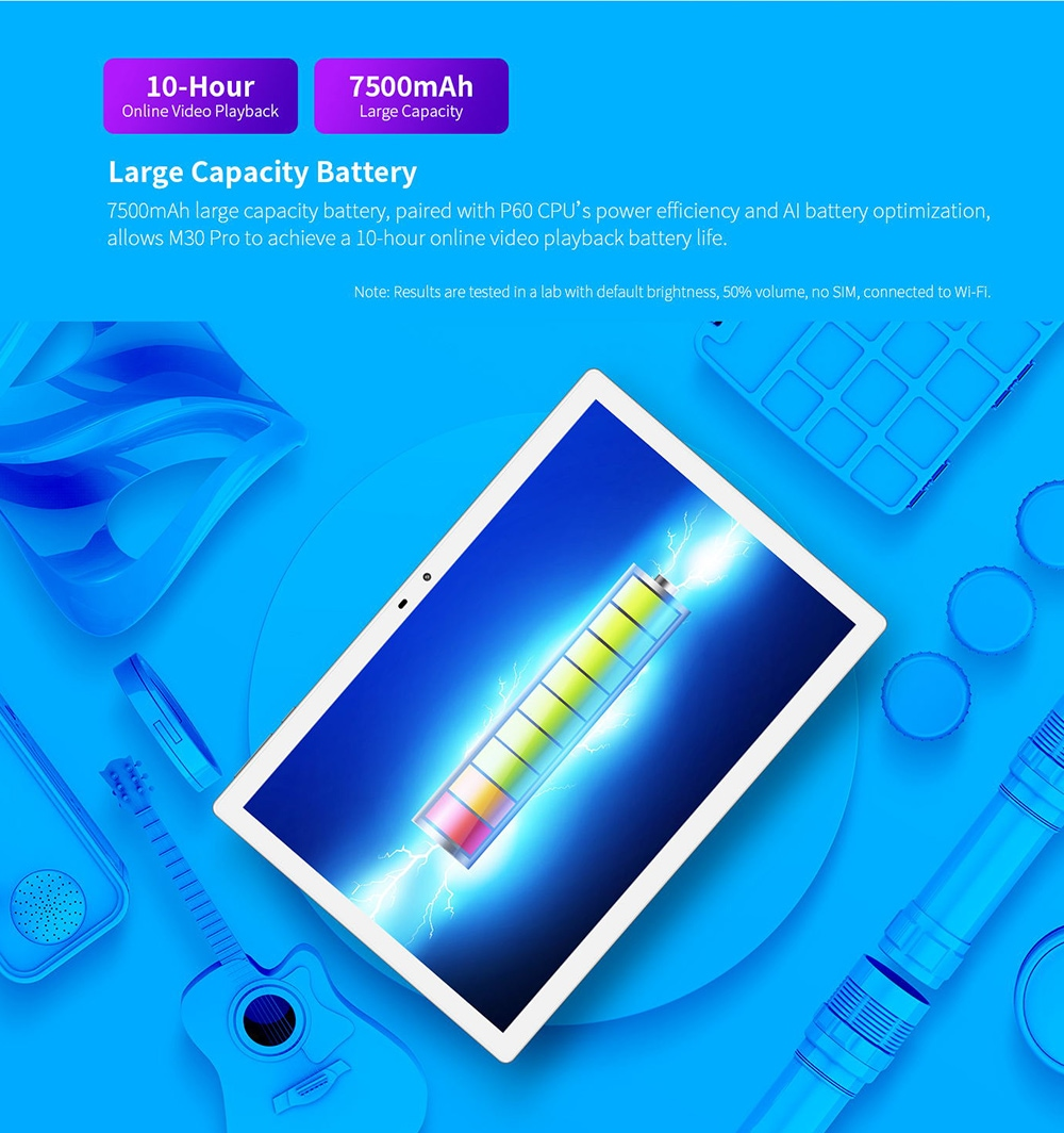 Teclast M30 Pro Tablet Large Capacity Battery