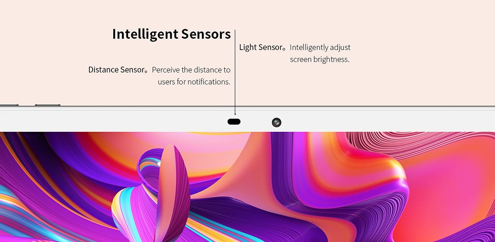 Teclast M30 Pro Tablet sensors