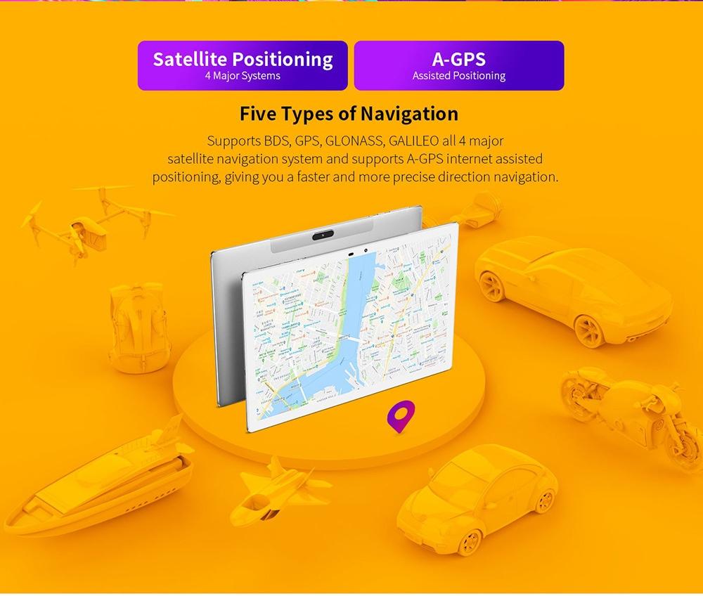 Teclast M30 Pro Tablet Five Types of Navigation