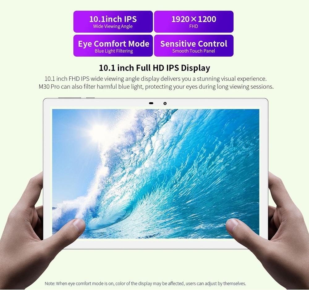 Teclast M30 Pro Tablet 10.1 inch Full HD IPS Display