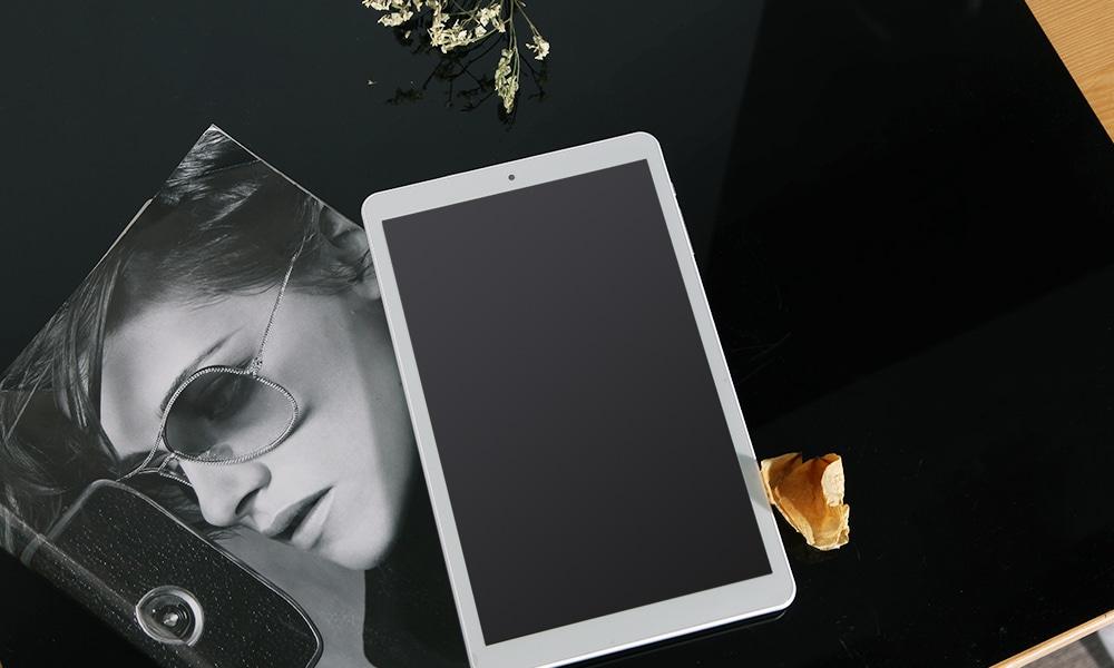 THTF A1022 Phablet Tablet PC 10,1 hüvelykes Android 7.0 MTK8163 Quad Core 1,5 GHz-es 2 GB RAM 32GB ROM- Ezüst
