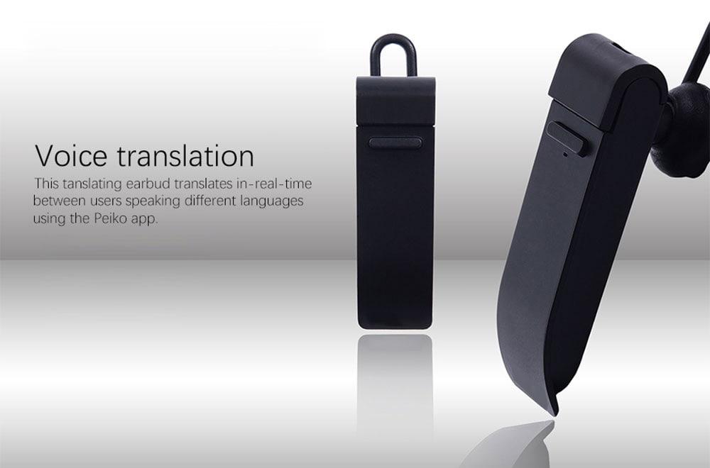 16 nyelv Fordítás Fordító Univerzális Bluetooth fejhallgató Vezeték nélküli fülhallgató mikrófénnyel