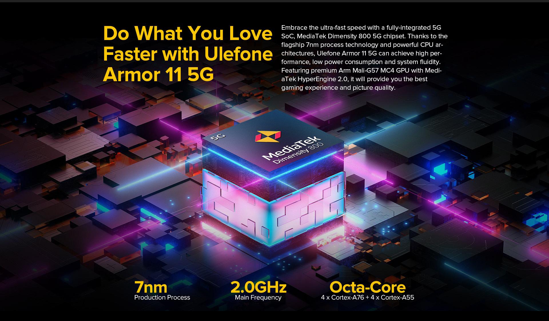 Ulefone Armor 11 5G robusztus okostelefon - fekete más területekre