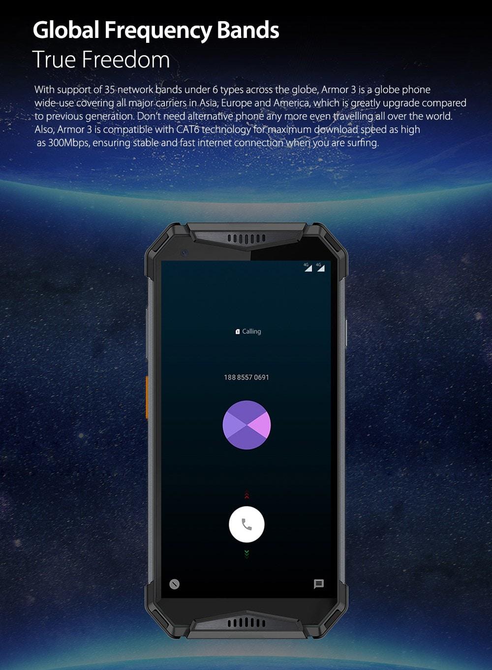 Ulefone Armor 3 4G okostelefon