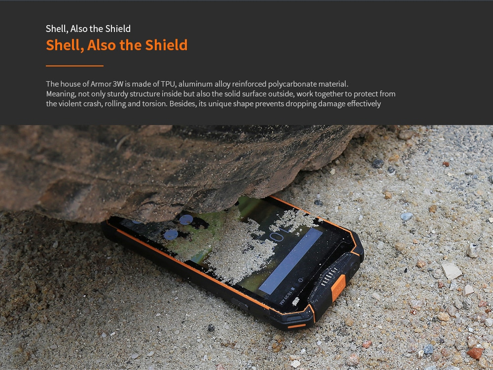Ulefone Armor 3WT 4G Phablet 4GB RAM 64GB ROM- Orange EU Version