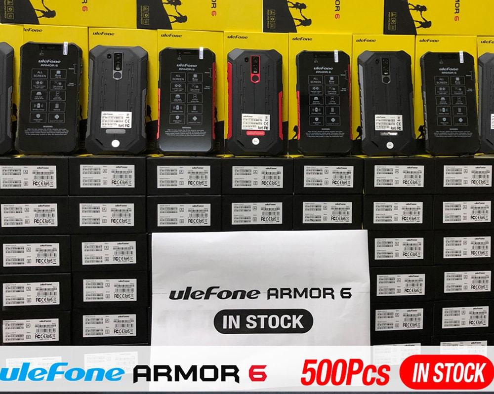 Ulefone Armor 6 4G okostelefon