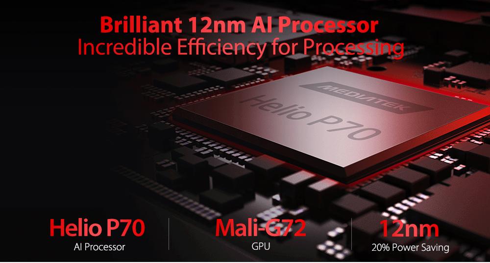 Ulefone Armor 6S 4G Phablet 6GB RAM 128GB ROM - Black Other Area