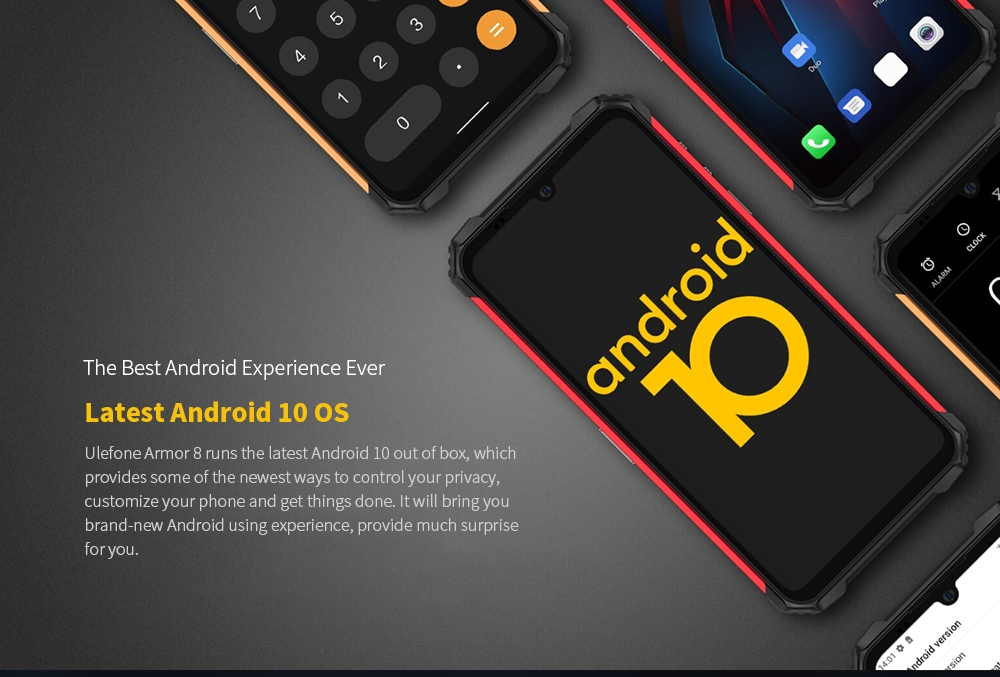 Ulefone Armor 8 Rugged 4G Smartphone Latest Android 10 OS
