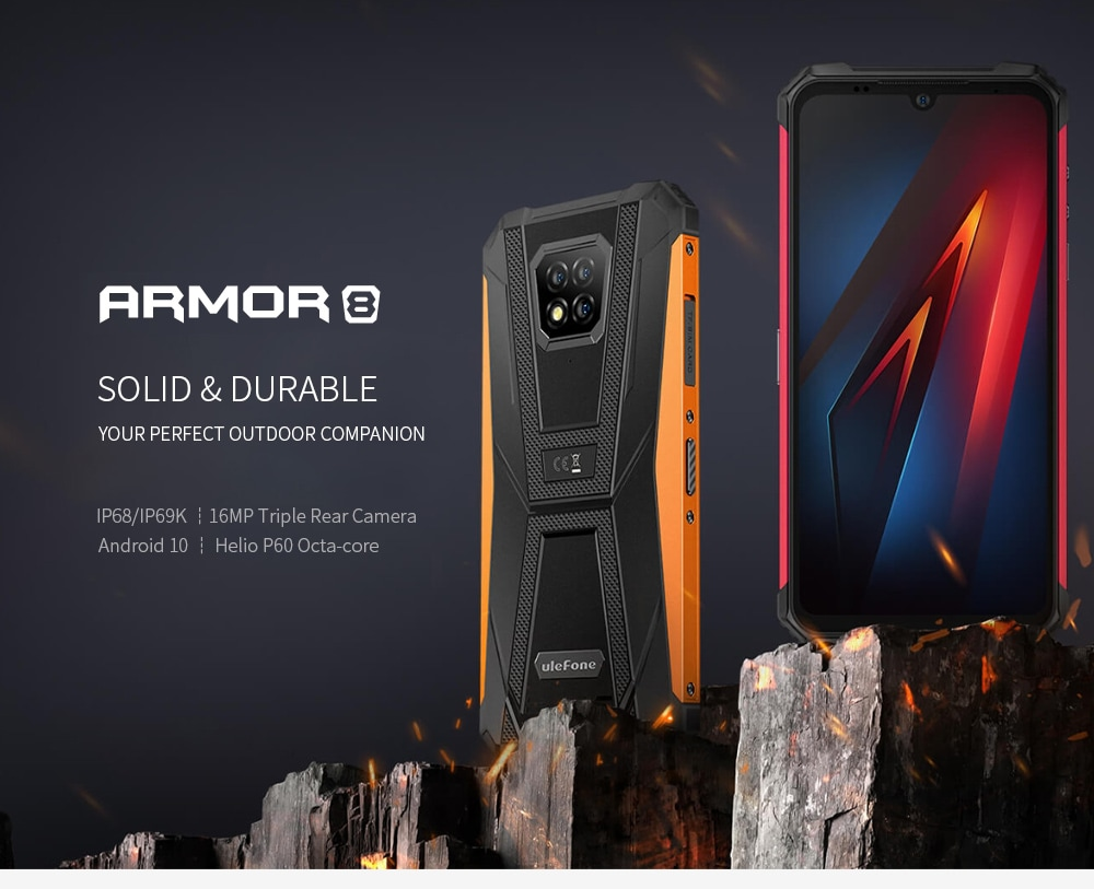 Ulefone Armor 8 Rugged 4G Smartphone