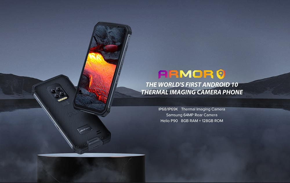 Ulefone Armor 9 4G Smartphone NFC Global Version - Black Other Area