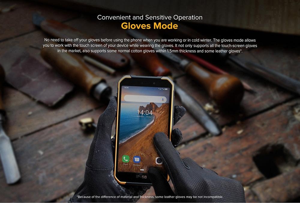 Ulefone Armor X6 3G Smartphone 2GB RAM 16GB ROM- Black EU Version