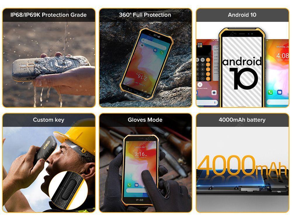 Ulefone Armor X7 4G Smartphone Global Version- Orange