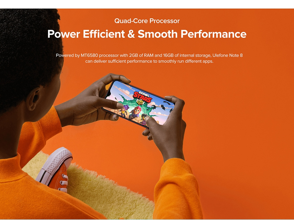 Ulefone Note 8 3G Smartphone Quad-Core Processor