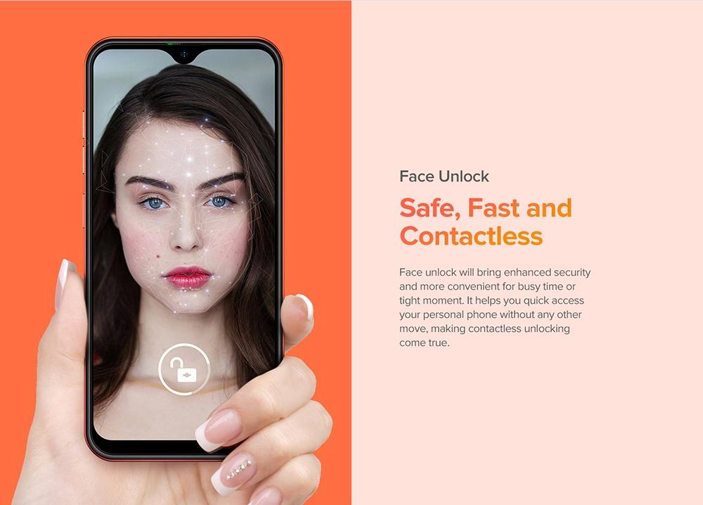 Ulefone Note 8 3G Smartphone Face Unlock