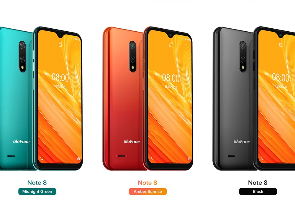 Ulefone Note 8 3G Smartphone color