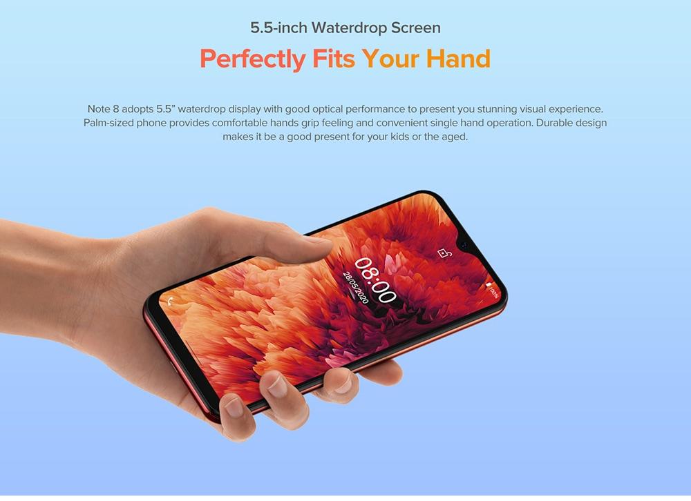 Ulefone Note 8 3G Smartphone 5.5-inch Waterdrop Screen