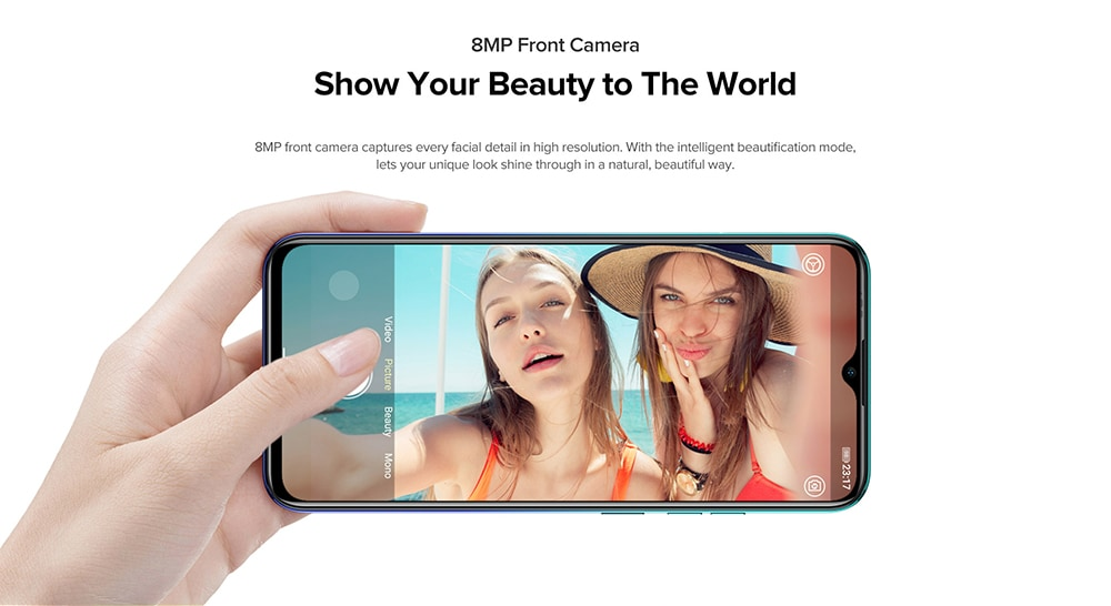 Ulefone Note 9P 6.52 inch 4G Phablet Global Version - Blue For European Union