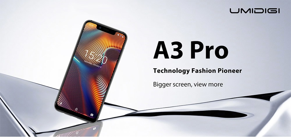 UMIDIGI A3 Pro 4G Phablet 5.7 inch Android 8.1 MT6739 Quad Core 1.5GHz 3GB RAM 16GB ROM 12.0MP + 5.0MP Rear Camera 3300mAh Built-in Low-level Configuration - Gold