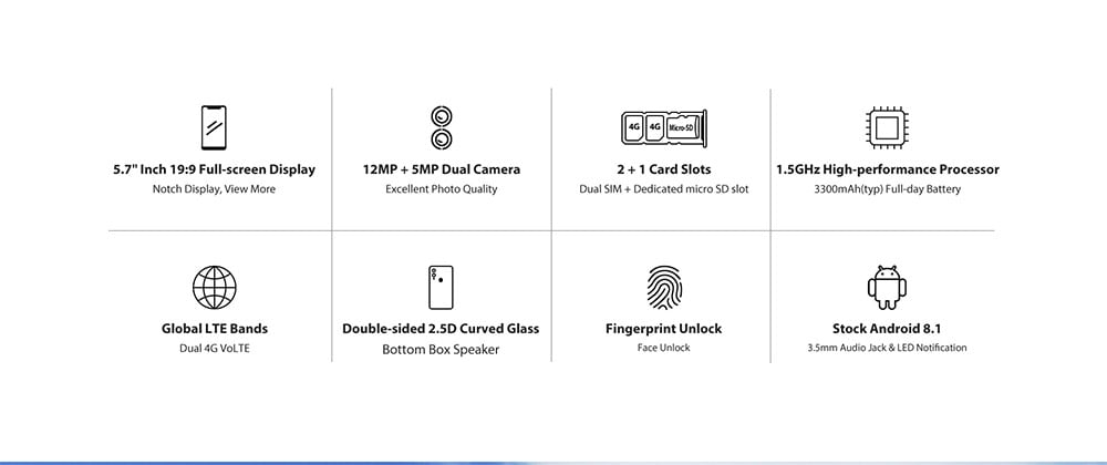 UMIDIGI A3 Pro 4G okostelefon