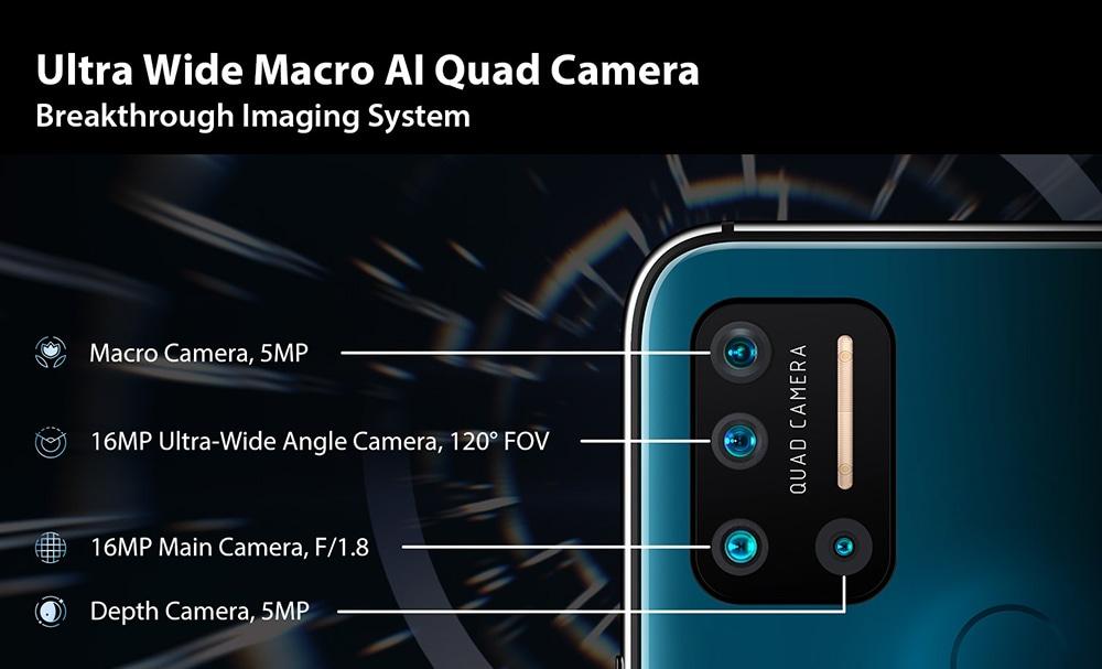 UMIDIGI A7 Pro 4G Smartphone Global Version Ultra Wide Macro AI Quad Camera