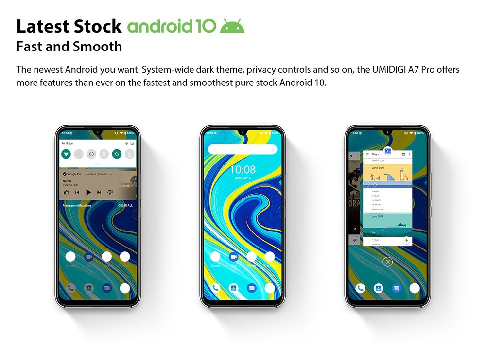UMIDIGI A7 Pro 4G Smartphone Global Version Latest Stock Android 10