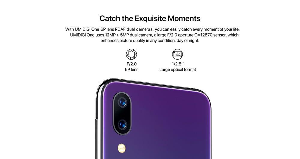UMIDIGI One 4G okostelefon