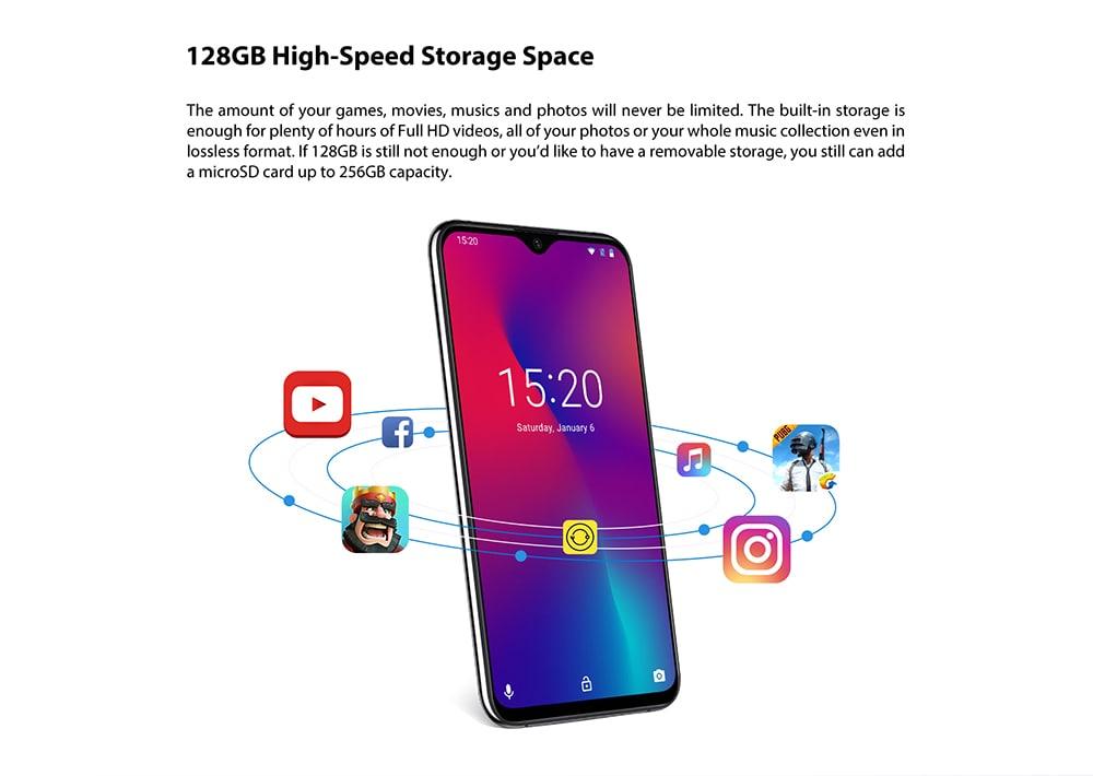 UMIDIGI One Max 4G okostelefon