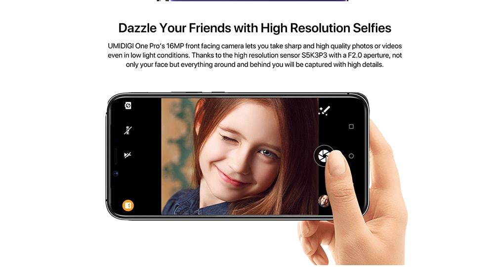 UMIDIGI One Pro 4G okostelefon