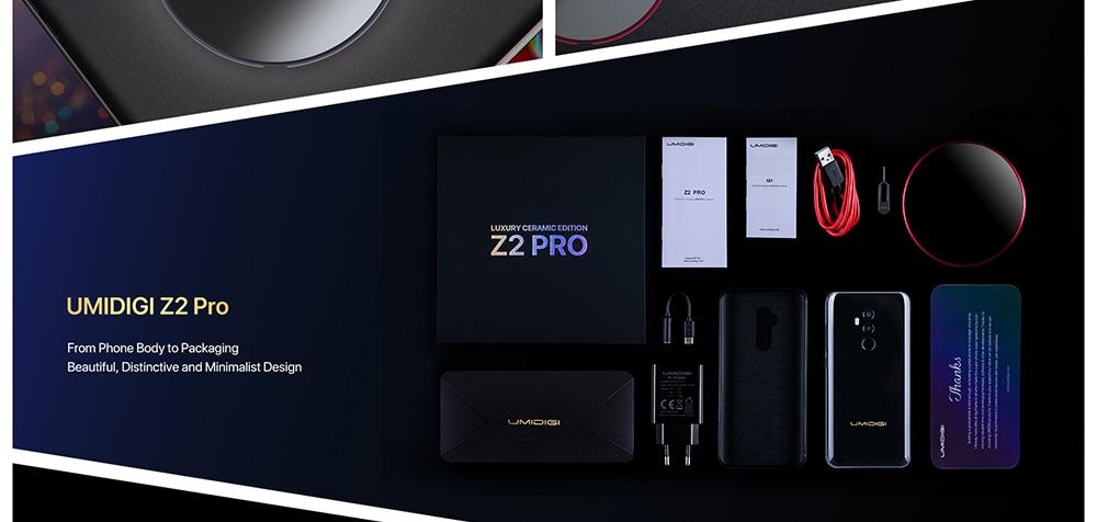 UMIDIGI Z2 Pro 4G okostelefon