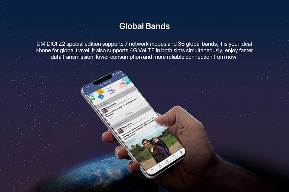 UMIDIGI Z2 4G okostelefon