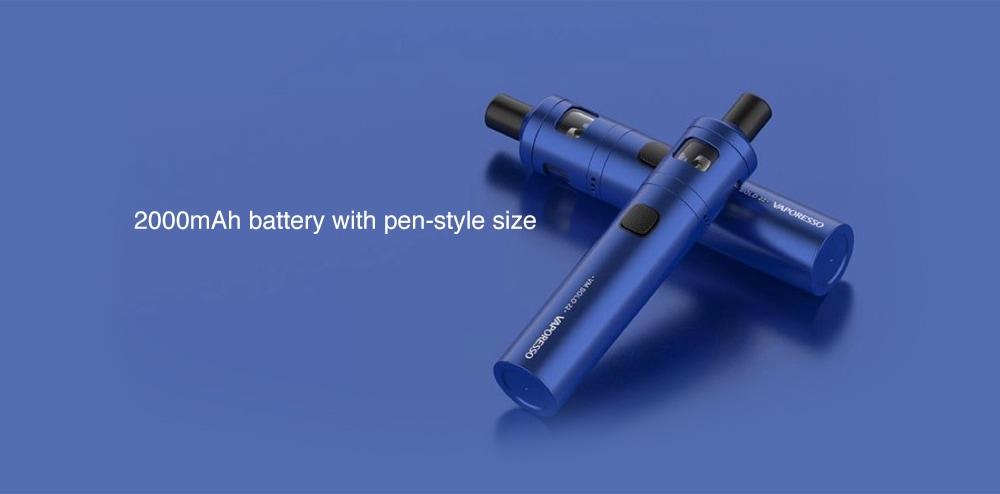 VAPORESSO VM Solo 22 Vapor Pen Pod Starter Kit 2000mAh- Blue