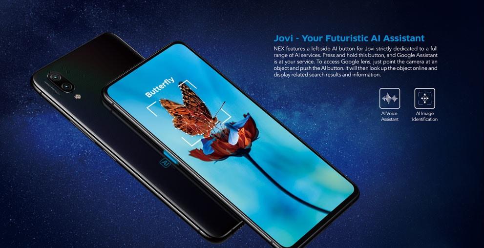 Vivo NEX S 4G okostelefon