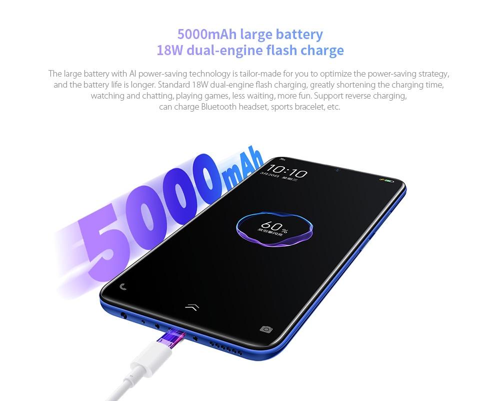 Vivo U3 4G Phablet 6GB RAM 64GB ROM- Light Blue
