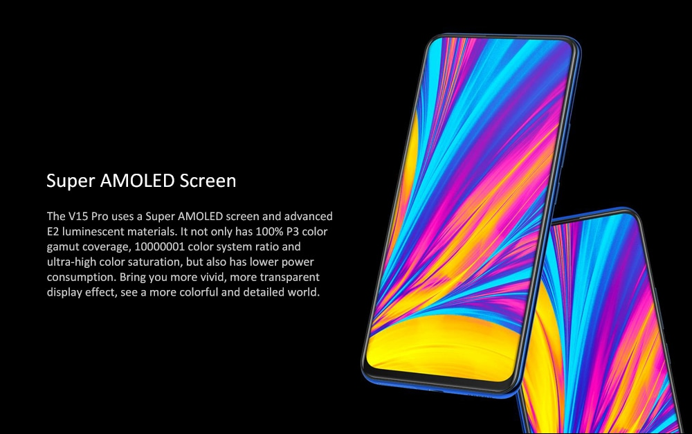 vivo V15 Pro 4G Phablet 6.39 inch Funtouch OS 9 ( Android 9.0 ) Qualcomm Snapdragon 675AIE Octa Core 2.0 + 1.7GHz 6GB RAM 128GB ROM 48.0MP + 8.0MP + 5.0MP Rear Camera Screen Fingerprint Sensor 3700mAh Built-in- Red