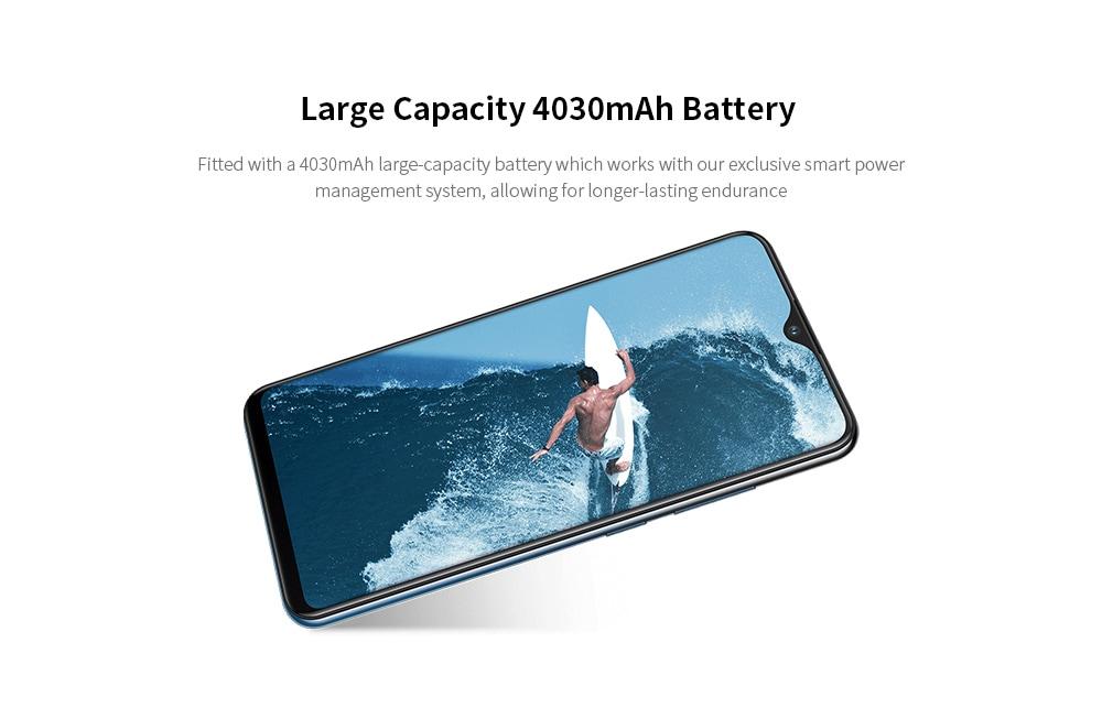 Vivo Y91C 4G Phablet 6.22 inch MT6762R Octa Core 2GB RAM 32GB ROM 13.0MP Rear Camera 4030mAh Battery- Blue